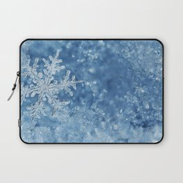 Winter wonderland Snowflakes Laptop Sleeve