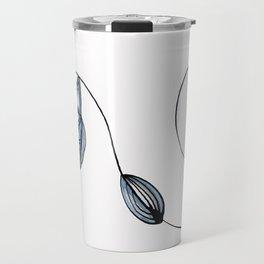 Organic Lines Travel Mug