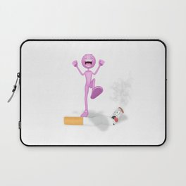 Quit Smoking Laptop Sleeve