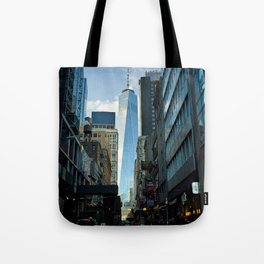 Downtown Giant Tote Bag