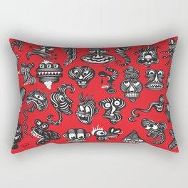 monsterheadz menagerie  Rectangular Pillow