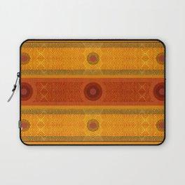 """Ethnic Pattern Warm Tones II"" Laptop Sleeve"