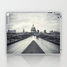 Millennium Bridge Ghosts, London Laptop & iPad Skin