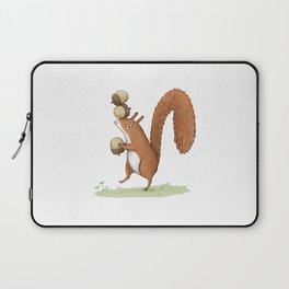 Squirrel With Acorns Laptop Sleeve