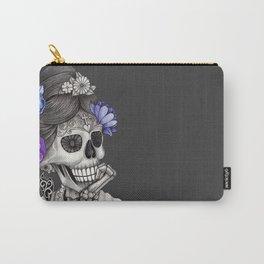 Caravela Dia de Los Muertos / Mexican Skull Carry-All Pouch