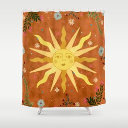 Mystical Sun Shower Curtain