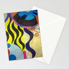 Abstrat composition 416 Stationery Cards