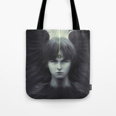 Eye of Raven Tote Bag