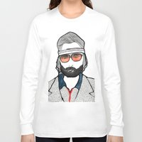 tenenbaum Long Sleeve T-shirts featuring Richie Tenenbaum by daniel davidson