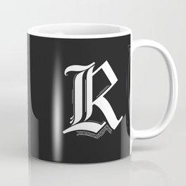 Letter R Coffee Mug