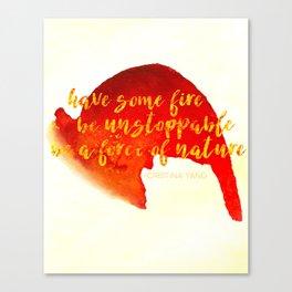 Grey's Anatomy /// Have Some Fire /// Cristina Yang /// Greys Anatomy Canvas Print