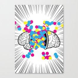 Brain Boom Canvas Print
