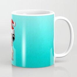 Christmas Platypus Wearing a Santa Hat Coffee Mug