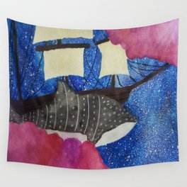 Sky Sailing Wall Tapestry