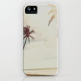 Palms and Simplicity iPhone Case