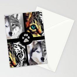 Ancestors Quilt - Pet Version Stationery Cards