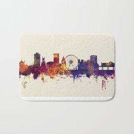 Brighton England Skyline Bath Mat