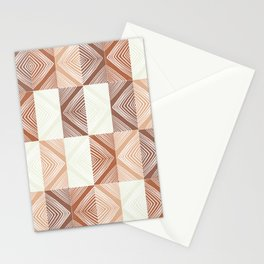 Mudcloth Tiles 02 Stationery Cards