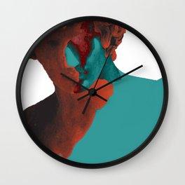 Eraserhead - lavaflow Wall Clock