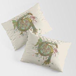 Celtic Initial G Pillow Sham
