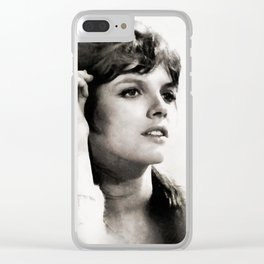 Katharine Ross, Vintage Actress Clear iPhone Case