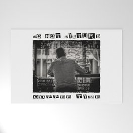 DO NOT DISTURB - Coffee Time Welcome Mat