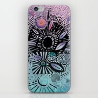 doodle iPhone & iPod Skins featuring Doodle by Maureen Mitchell