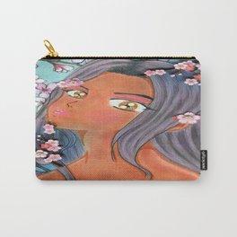 Cherry Blossom Klip Carry-All Pouch