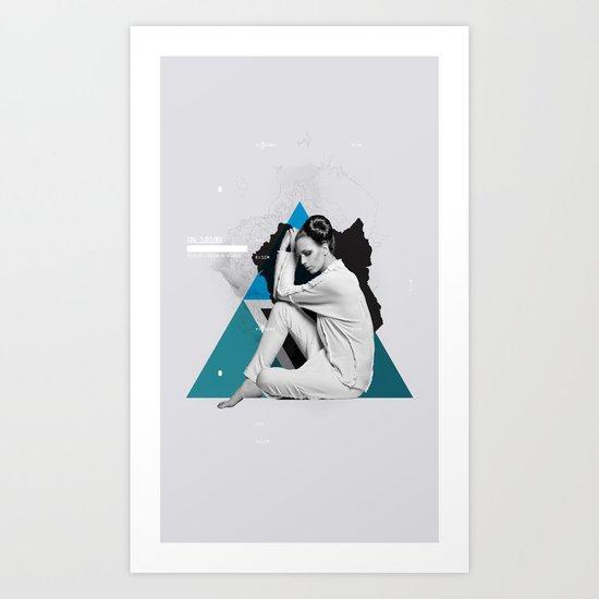 Synthesize 01 Art Print