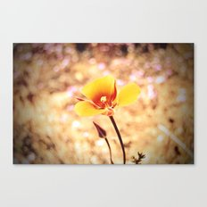 First upload Canvas Print