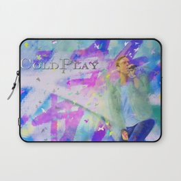 Chris Martin-Coldplay-Digital Impressionism Laptop Sleeve