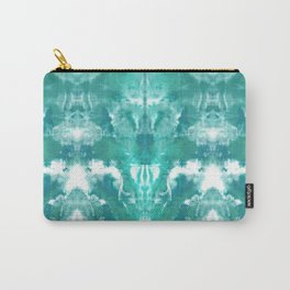 Aqua Blue Lagoon Carry-All Pouch