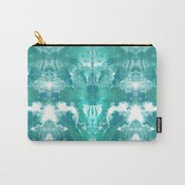Aqua Blue Lagoon Carry-All Pouch