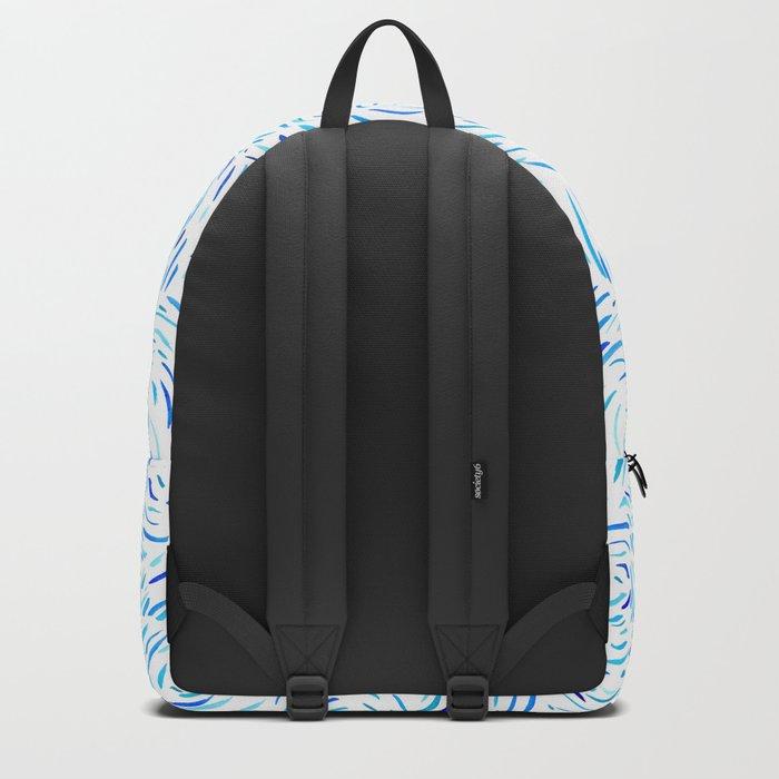 Dashed Waves Backpack