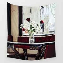 Cafe Break Wall Tapestry