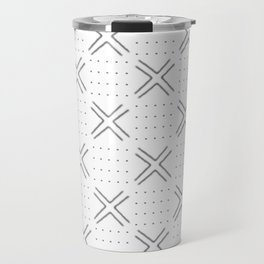 african mudcloth cross and points Travel Mug