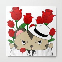 Romantic Mole Capone Metal Print