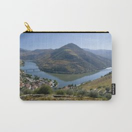 The Vale do Douro valley at Pinhao Carry-All Pouch
