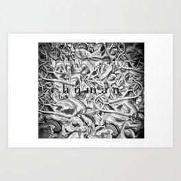 Human Art Print