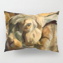 Splitting Hares Pillow Sham