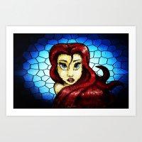 ariel Art Prints featuring Ariel.... by Emiliano Morciano (Ateyo)