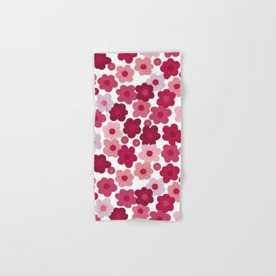 cherry blossom pop Hand & Bath Towel