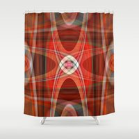 221b Shower Curtains featuring polar 221B by Matthias Hennig
