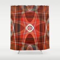 221b Shower Curtains featuring polar 221B by Matthias Hennig