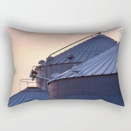 Sunset on the Farm Rectangular Pillow