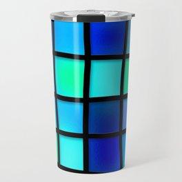 Colored Pattern Travel Mug