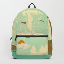 LONE BLUE ROAD Backpack