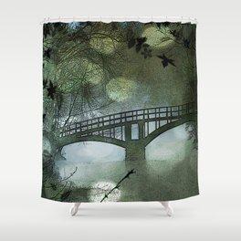Foot Bridge Shower Curtain