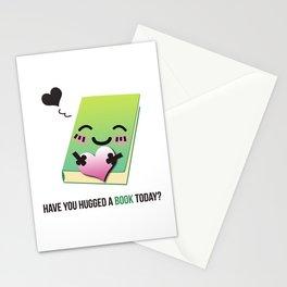 Book Emoji Love Stationery Cards