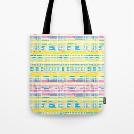 Pastel Kente Tote Bag